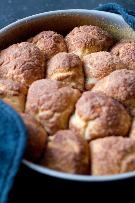 bollitos dulces con canela