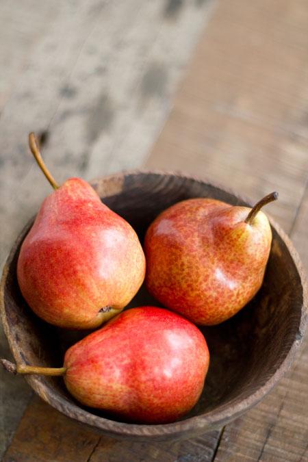 gazpacho de peras