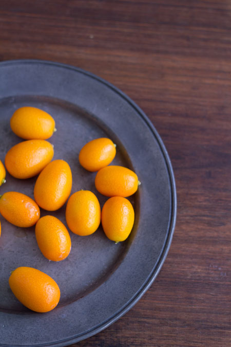 kumquats con chocolate