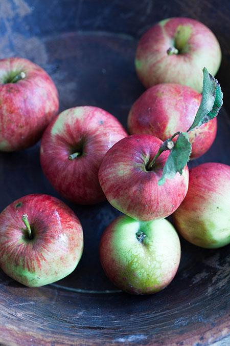 nieve de manzana con jerez