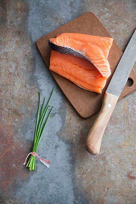 Albondigas de salmon