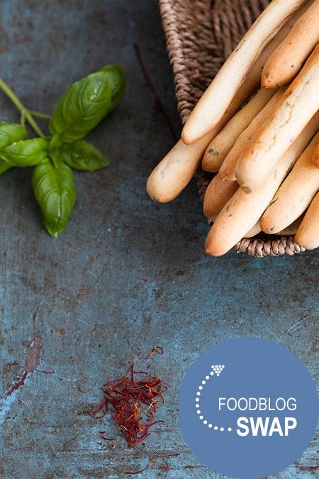 safraan en basilicum soepstengels #foodblogswap