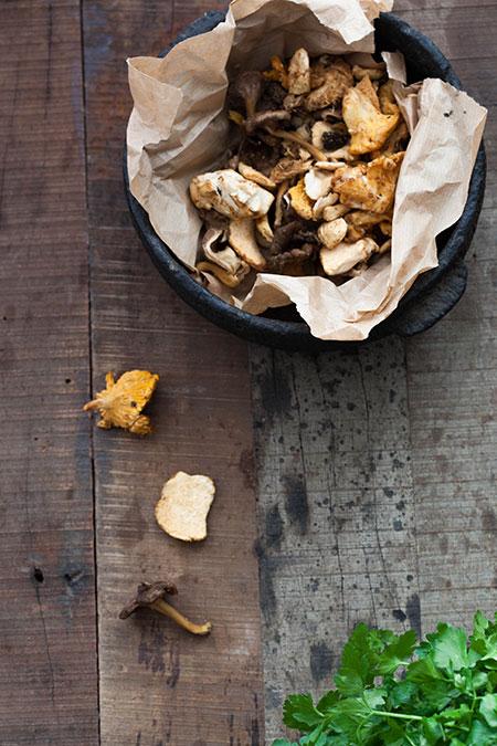 Croquetas de champiñónes (kroketjes met paddenstoelen)