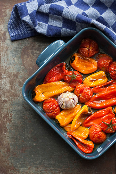 paprika recepten oven