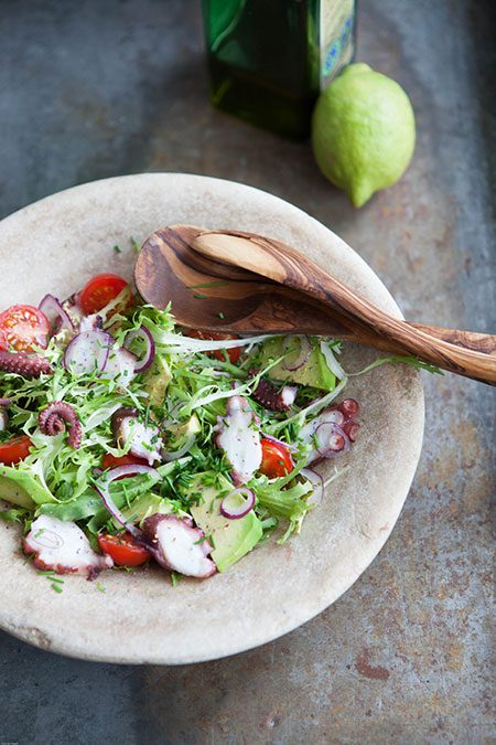 Ensalada de pulpo (octopus salade)