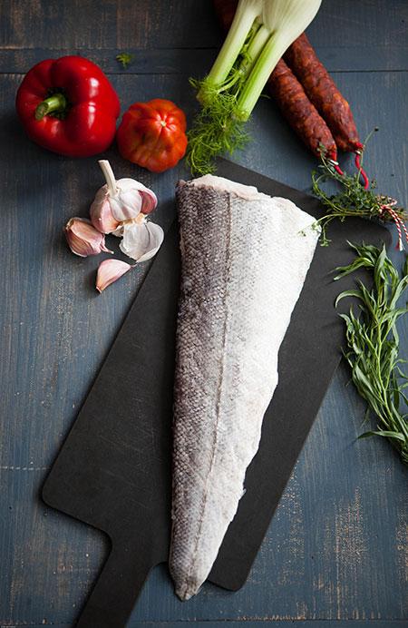 Sopa de merluza (vissoep met heek)