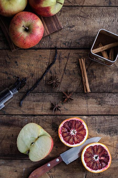 Compota de manzana con especias (appelcompote met specerijen)
