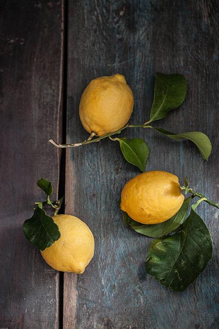 Pollo al limón y estragon (kip met citroen en dragon)