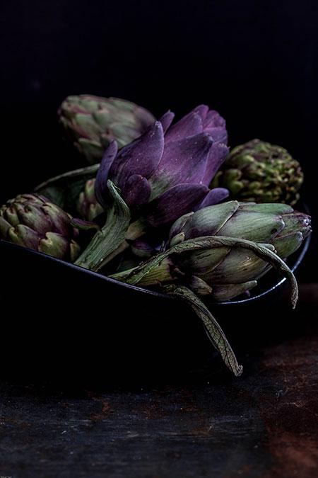 Alcachofas en aceite (artisjokken in olijfolie)