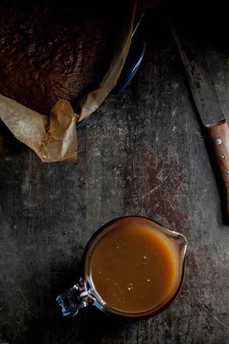 Sticky toffee pudding (dadelcake met heel veel karamel saus)