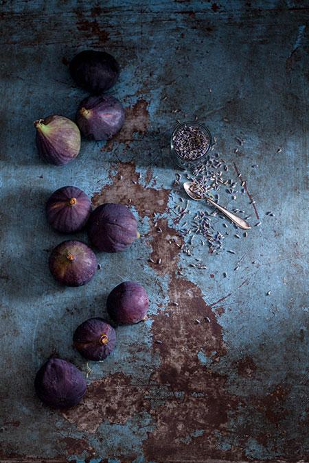 Conserva de higos con lavanda y tomillo (ingemaakte vijgen met lavendel en tijm)