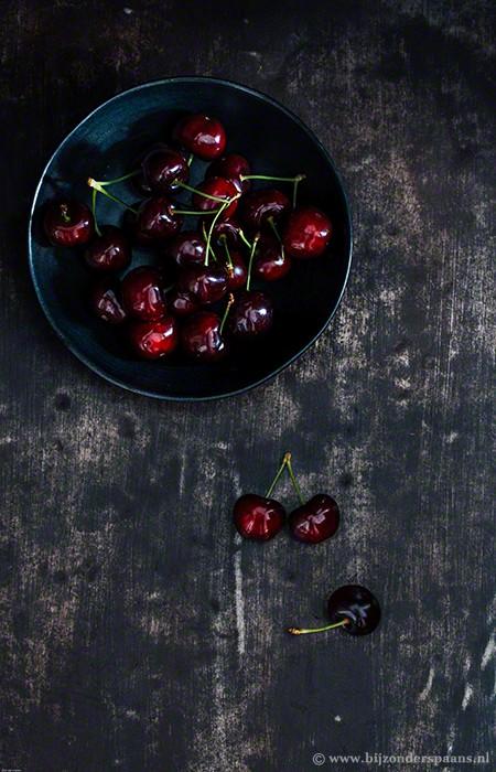Crema de cerezas (kersen curd)