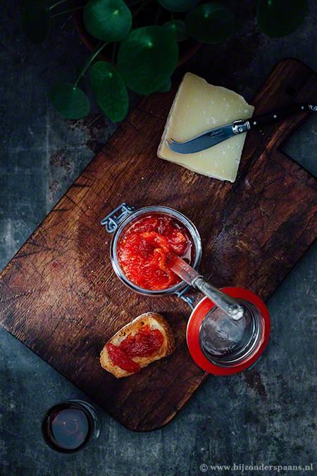 Tomatenjam met rozemarijn (mermelada de tomate)
