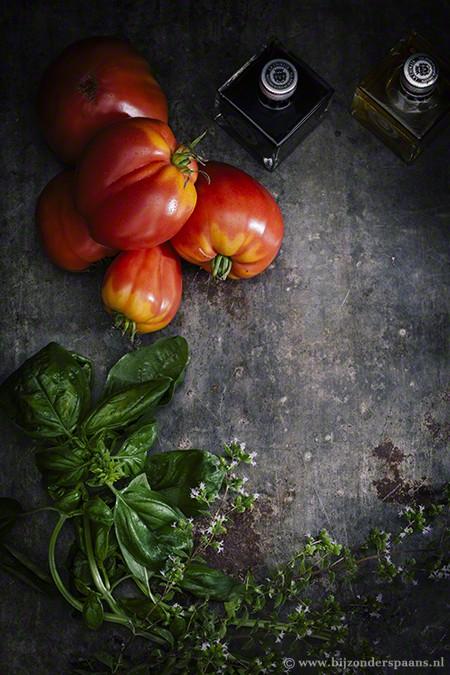Tomaten ijs en gazpacho ijs - Helado de tomate y de gazpacho