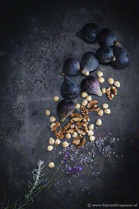 Vijgentaart met lavendel en tijm