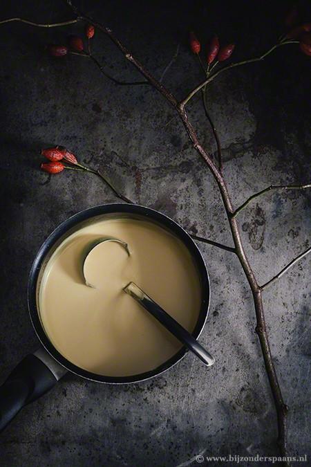 Kreeft met saffraansaus