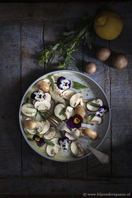 Champignon salade