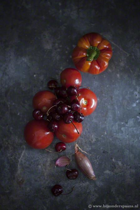 Gazpacho met kersen