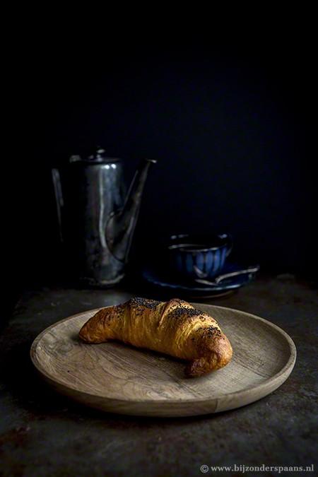 Croissants met sobrasada en manchego