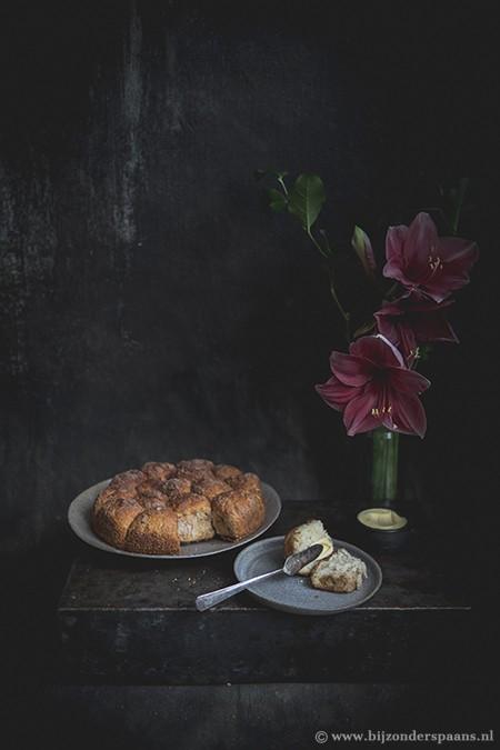 Broodjes met kaneelsuiker